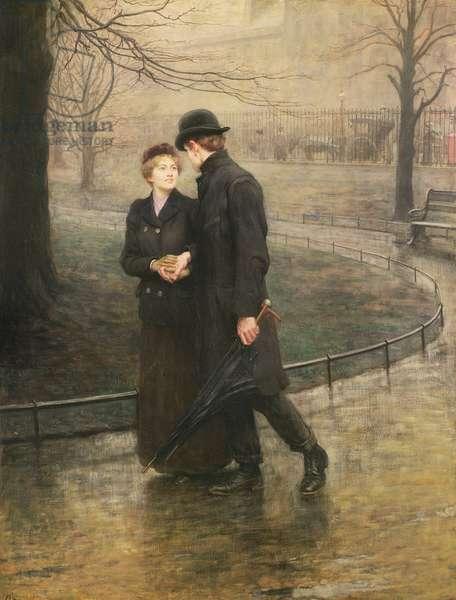 The Garden of Eden, 1901 (oil on canvas)