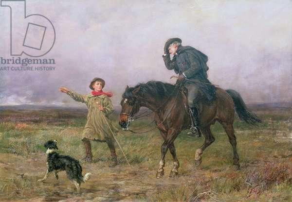 Duty, 1880 (oil on canvas)