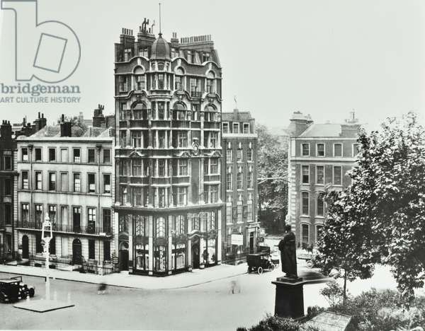23-25 Hanover Square, Westminster LB: front elevations, 1926 (b/w photo)
