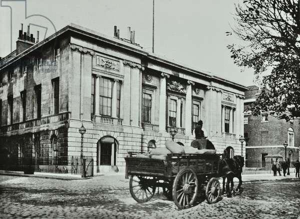 Trinity House, Trinity Square, City of London, 1890 (b/w photo)