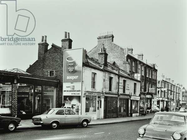 150-156 Northcote Road, London, 1969 (b/w photo)