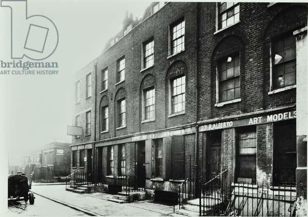 Corner Pin, 285-293 Saint John Street: by Meredith Street, London, 1930 (b/w photo)