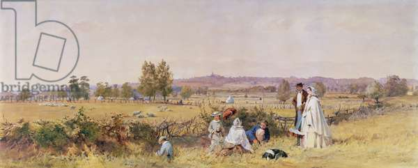 Highgate from Upper Holloway, 1859