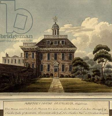 Somerset House, Isleworth, Middlesex, print