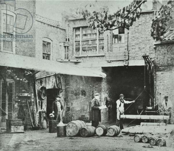 231-235 King's Road: rear elevation, London, 1890 (b/w photo)
