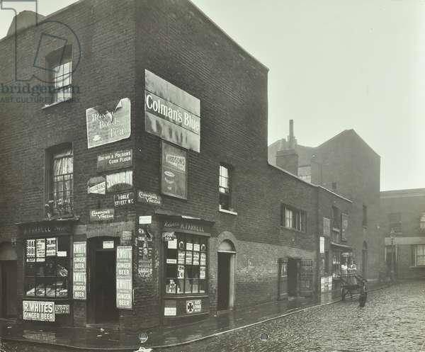 11-14 Ann Street: corner of Ann Street and Noble Street, 1912 (b/w photo)