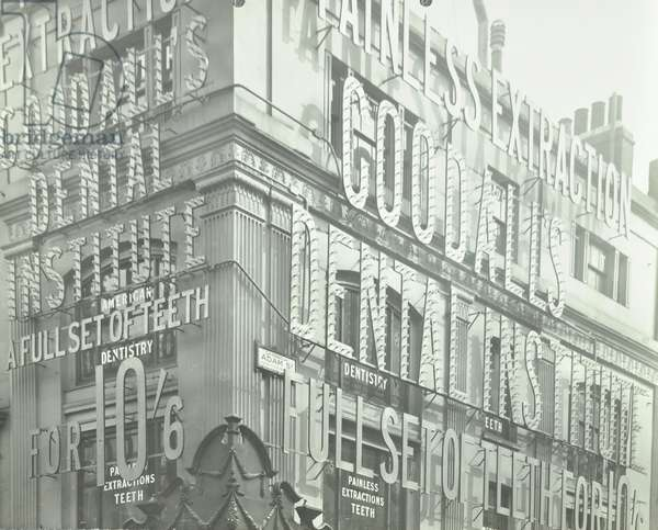 Goodall's Dental Institute, London, 1911 (b/w photo)
