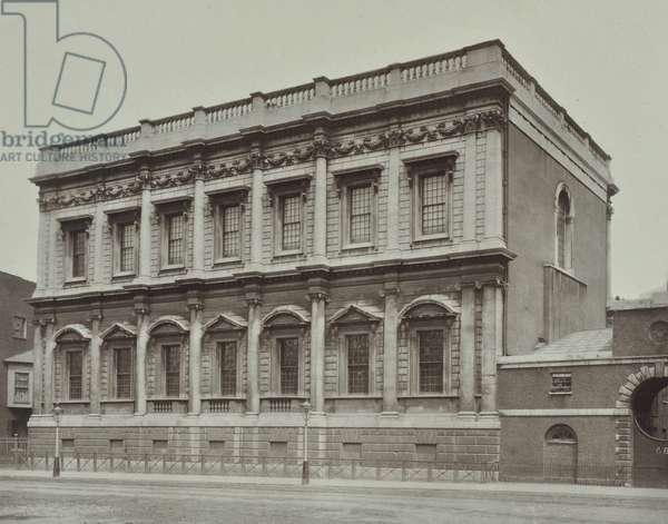 Banqueting Hall, Whitehall, Westminster LB, 1900 (b/w photo)