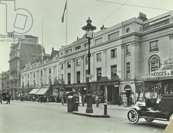 145-155 Regent Street, Westminster LB: front elevations, 1913 (b/w photo)