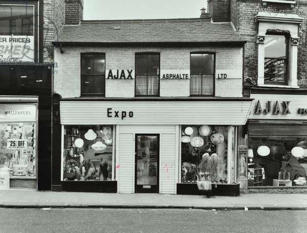 178 Falcon Road, London, 1969 (b/w photo)