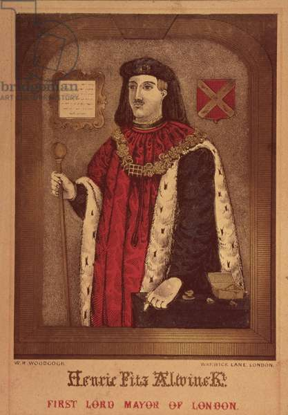 The First Lord Mayer of London by W. Woodcock (aquatint)