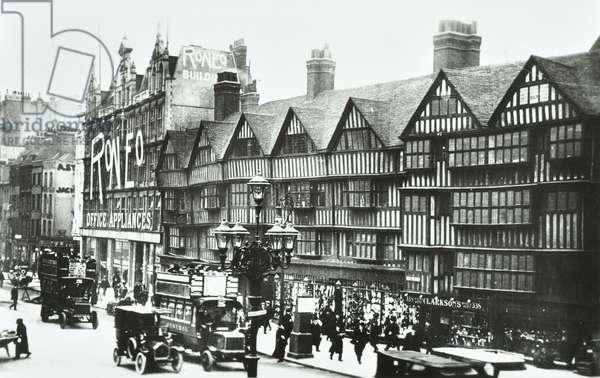Old Staple Inn, Holborn, London, 1928 (b/w photo)