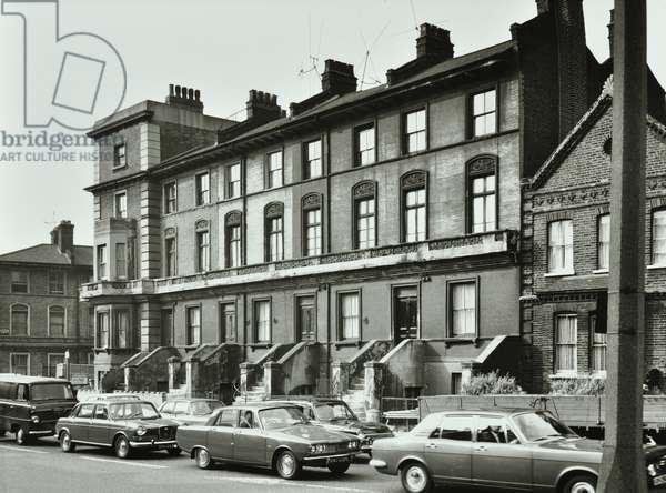 297-305 Queenstown Road, London, 1969 (b/w photo)