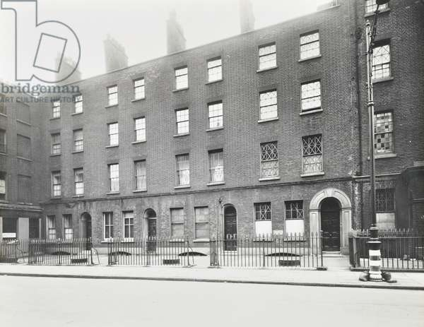 Whitbread's Brewery, Chiswell Street, London, 1942 (b/w photo)