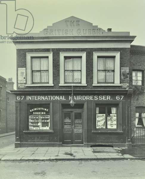 67 Church Street: front elevation, London, 1930 (b/w photo)