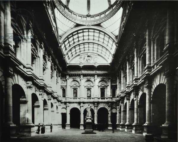 Royal Exchange, Threadneedle Street, City of London, 1900 (b/w photo)