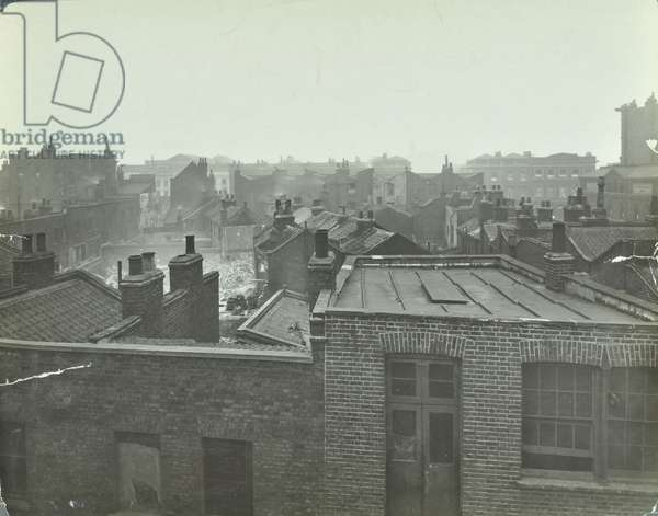 Brand Street: elevated view from Branston House, 1927 (b/w photo)