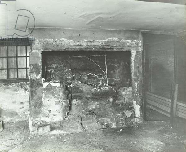 Becontree Estate: interior of Old Farm House, 1937 (b/w photo)