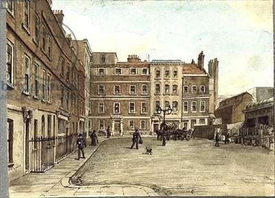 Warwick Square (w/c sketch)