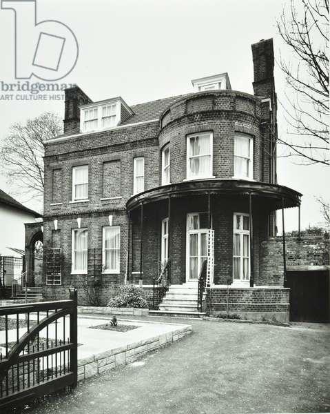 5 Blenkarne Road, London, 1977 (b/w photo)