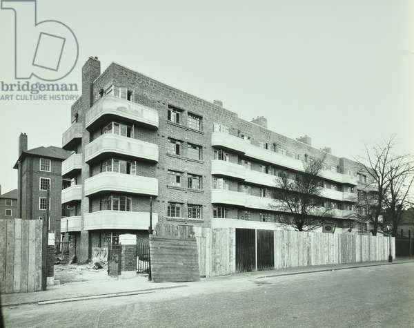 Macaulay Road, London, 1936 (b/w photo)