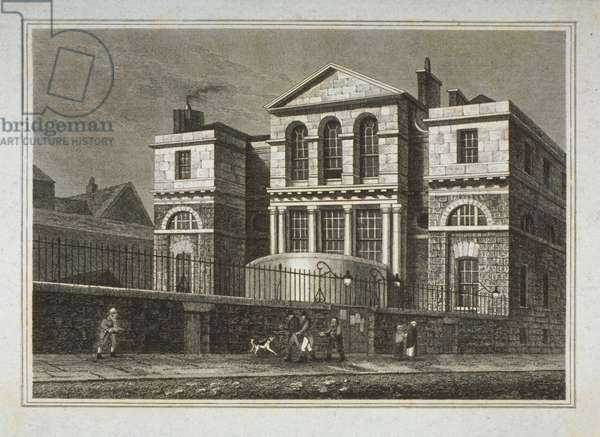 View of the Sessions House, Old Bailey, 1812 (engraving)