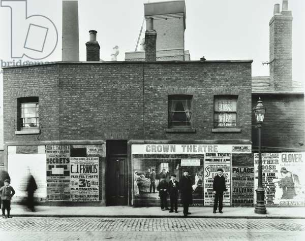 25 Greenwich Road: front elevation, 1903 (b/w photo)