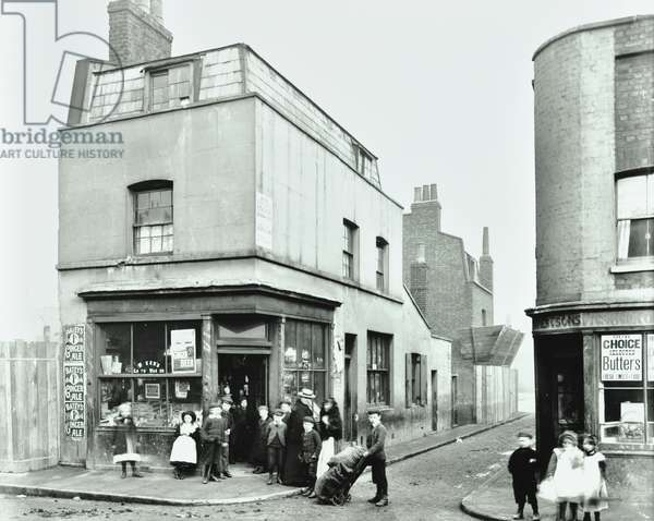 Lovatt Place: general view, London, 1904 (b/w photo)