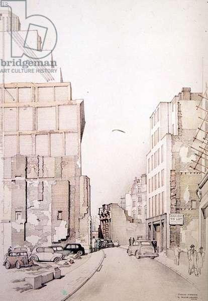 Mincing Lane: City of London, 1955