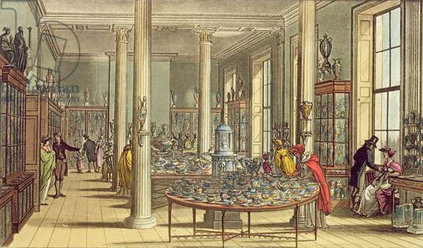 St. James's Square: Wedgwood and Byerley Showroom, York Street