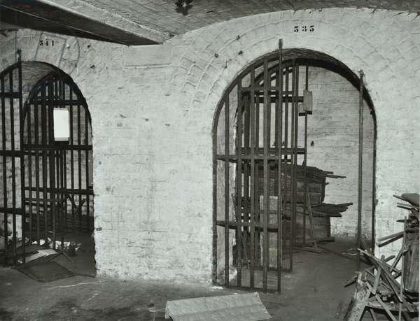 6 Idol Lane, cellars, City of London, 1971 (b/w photo)