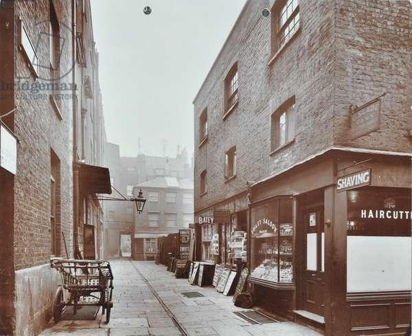 Saint James's Market, Westminster LB: general view, 1908 (b/w photo)