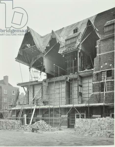 229 Bethnal Green Road, Bethnal Green: reconstruction, London, 1952 (b/w photo)