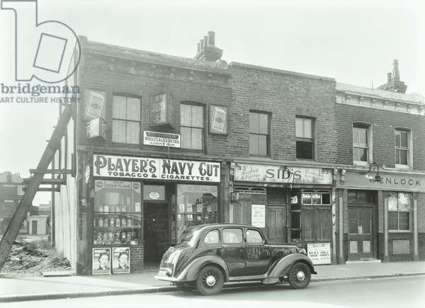 31-33 Thessaly Road, London, 1953 (b/w photo)