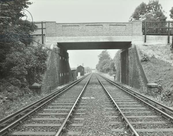 Belmont Bridge, 1940 (b/w photo)