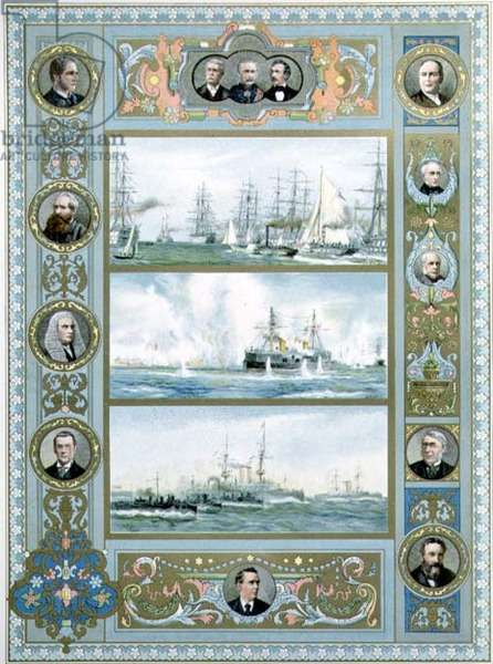 The Navy in the Victorian Era from the Jubilee edition of the Illustrated London News, 1897