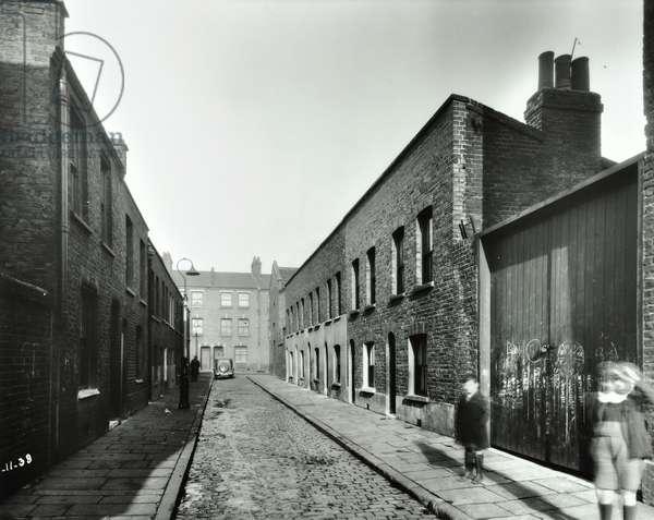 Hereford Street, 1938 (b/w photo)