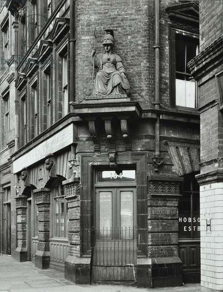 154 Tooley Street: by Shand Street, 1960 (b/w photo)