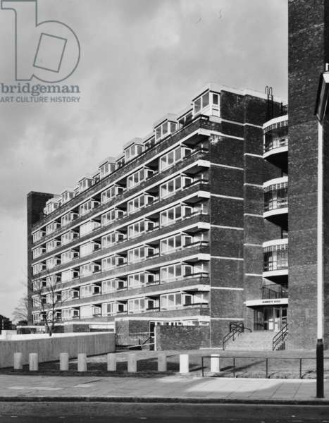 Brandon Estate: completed housing development, 1970 (b/w photo)