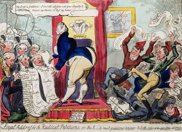 'Loyal Addresses and Radical Petitions', 1819
