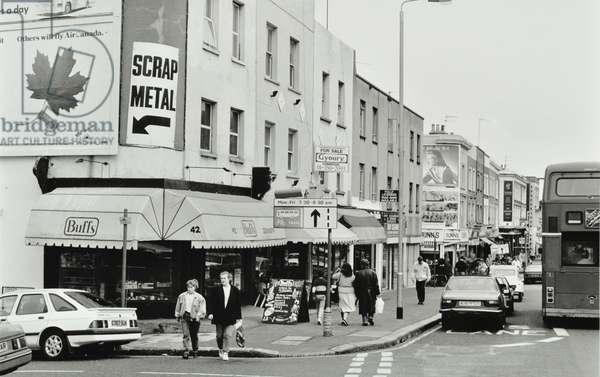 40-42 Lavender Hill, London, 1989 (b/w photo)