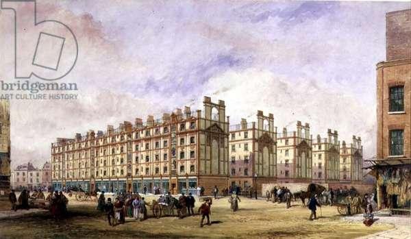Artisans' Dwellings, Petticoat Square, London (w/c)