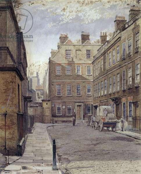 Dr.Johnson's House, 17 Gough Square, London