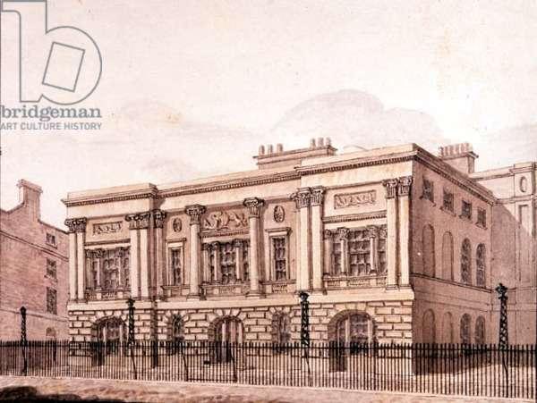 Trinity House, London 1810, watercolour