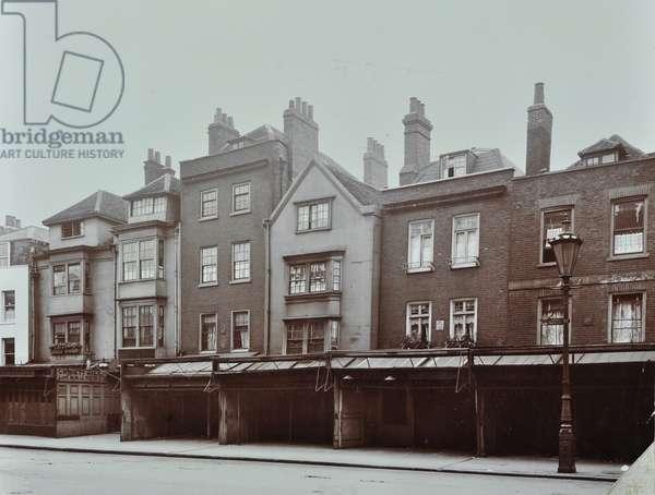 46-54 Aldgate High Street, London, 1908 (b/w photo)