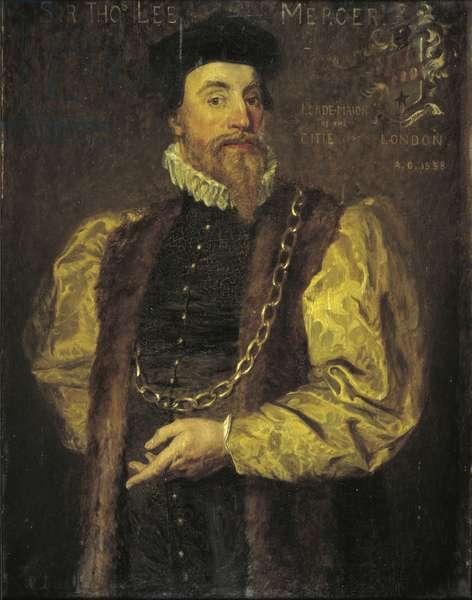 Sir Thomas Leigh, 1558 (oil on canvas)