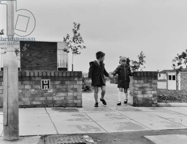 Haverhill: completed housing development, 1968 (b/w photo)