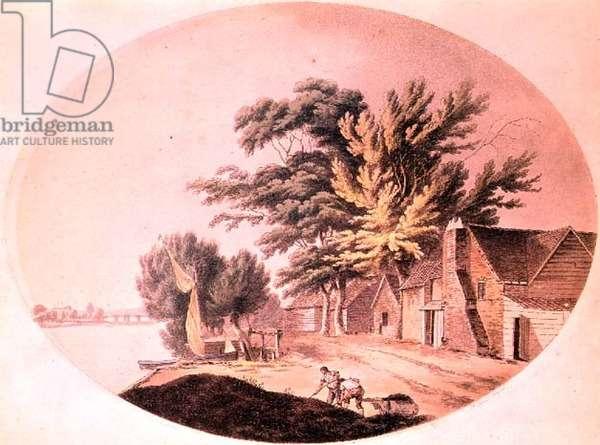 Millbank: by Tomkins and Jukes, 1796 (aquatint)