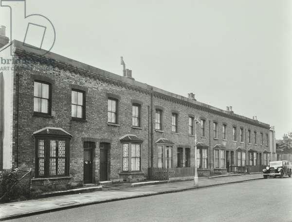 1-8 Batten Street, London, 1954 (b/w photo)
