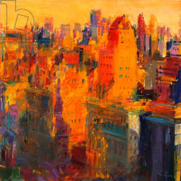 Manhattan, 2011 (oil on canvas)